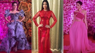 Lux Golden Rose Awards 2018 Worst Dressed: Kareena Kapoor Khan, Aishwarya Rai Bachchan, Taapsee Pannu Made Us Cringe With Their Red Carpet Ensembles